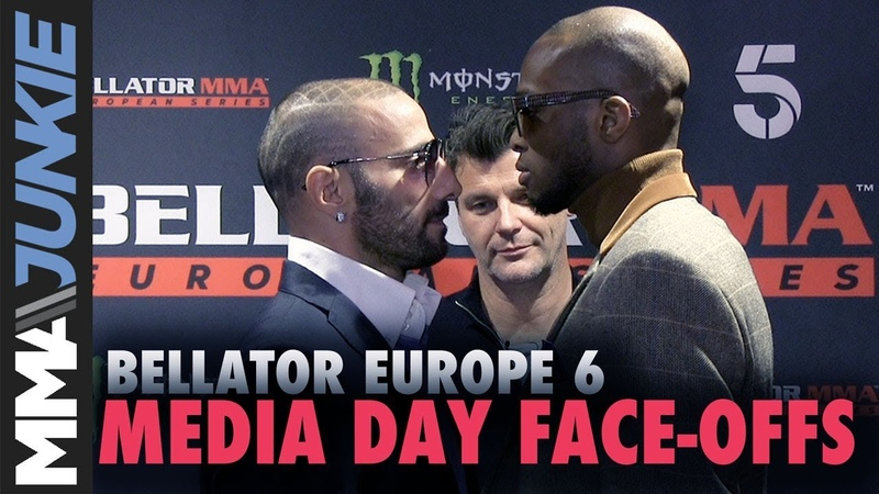 Bellator Europe 6 media day face-offs