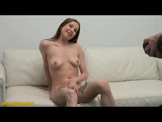 FakeAgent Mishelle Klein- Redhead loves to suck cock  Fake Agent Busty Pickups Casting Model Couch Amateur