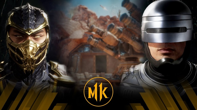 Mortal Kombat 11 Scorpion Vs Robocop Very Hard