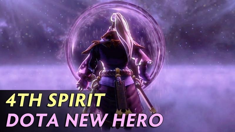 4th SPIRIT ANNOUNCE — VOID SPIRIT NEW HERO IN DOTA