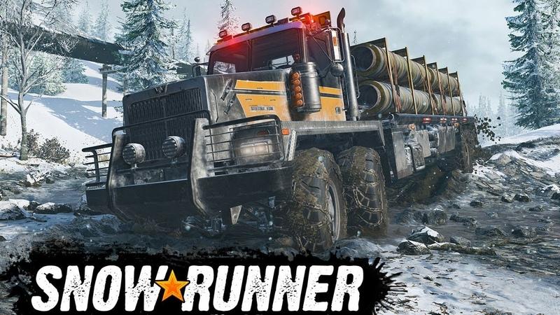 SnowRunner 28 Продолжаем покорение Аляски в кооперативе