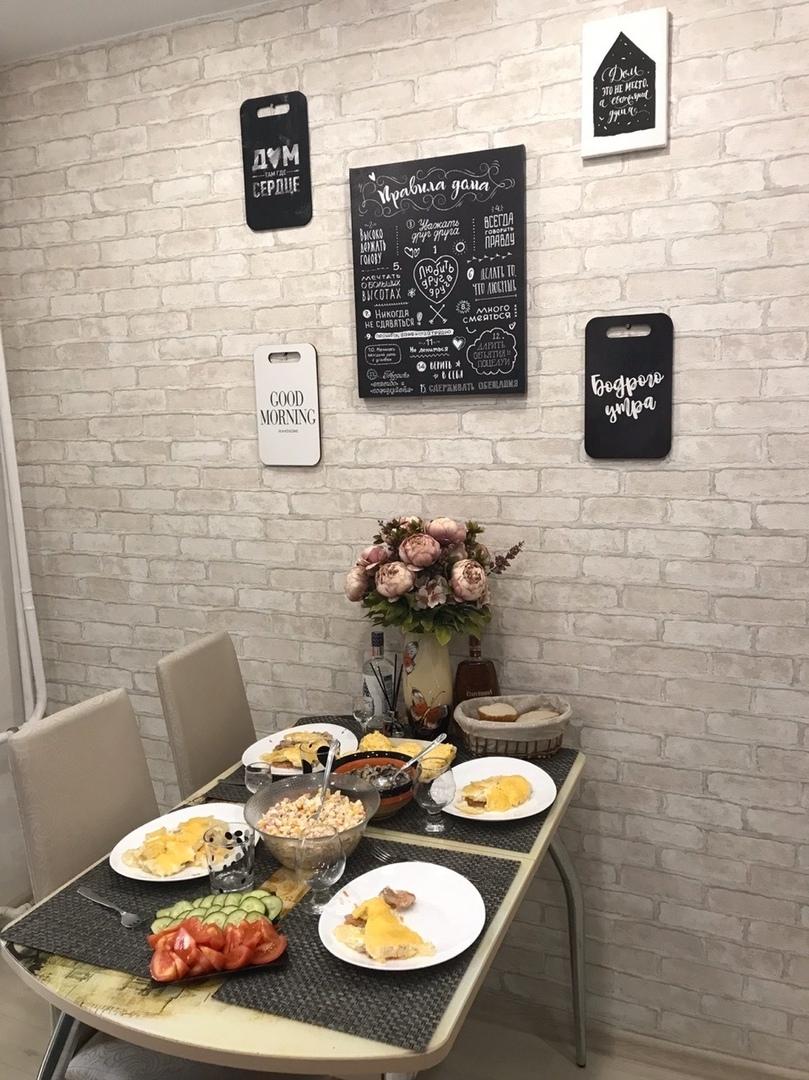 Решились расширить пространство с помощью присоединения у кухне лоджии. Как получилось, решать вам