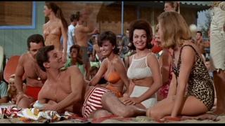 Мускулы на пляже / Muscle Beach Party (1964 HD) Комедия, Мюзикл