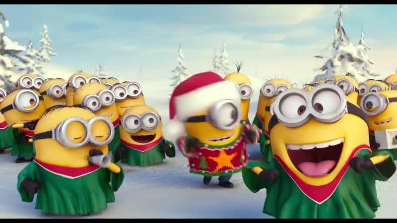 Minions Merry Xmas Happy New Year