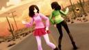 【MMD||Undertale||Glitchtale】Sand Planet [Betty▫️Frisk▫️Chara▫️Asriel▫️Sans] (English Cover)