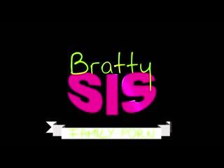 BrattySis Sydney Cole - Step Sisters Secret Crush
