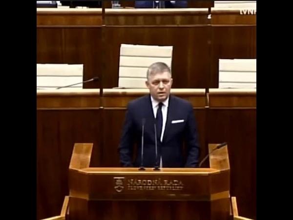 Róbert Fico a jeho vystúpenie v národnej rade na zvolenie predsedu parlamentu Borisa Kollárs