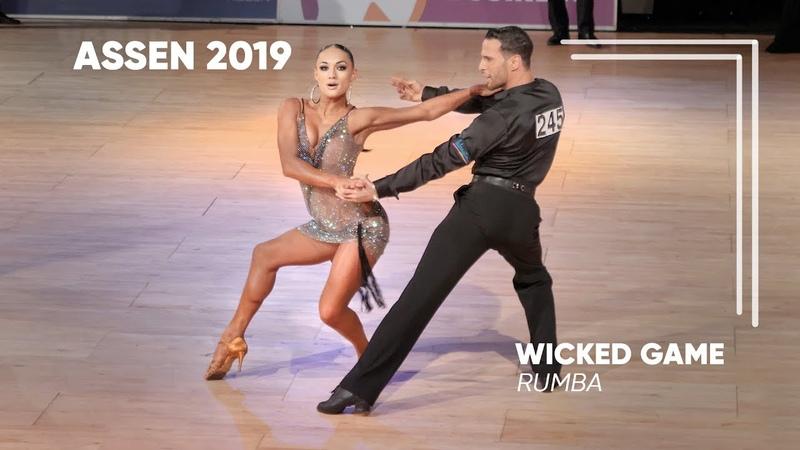 Salvatore Sinardi - Viktoria Kharchenko   2019 Dutch Open   Assen   Amateur LAT - SF R