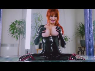 Bianca Beauchamp - Latex fetish for fans (2020) RedHead, Big tits, Bondage, fetish, Solo