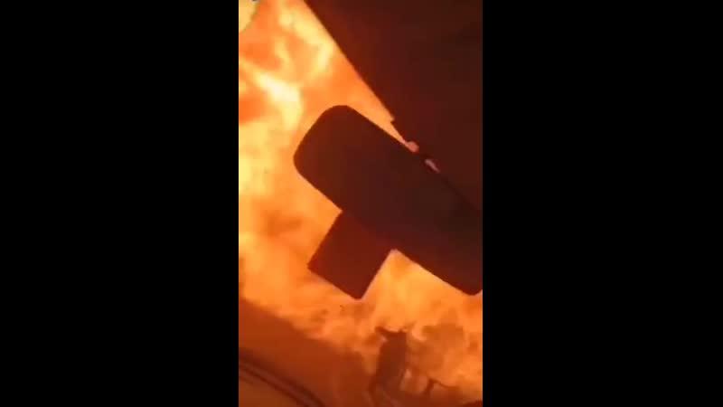 Мощный взрыв на заправке произошел в Краснодарском крае....