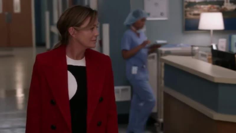 Анатомия Страсти Grey's Anatomy сезон 16 21 серия Winona Oak Lonely Hearts Club Stripped