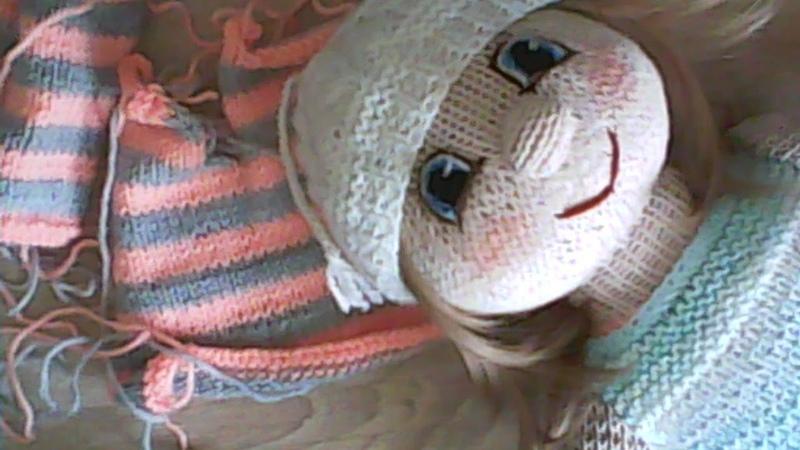 Одежда для куклы как сшить связанные детали