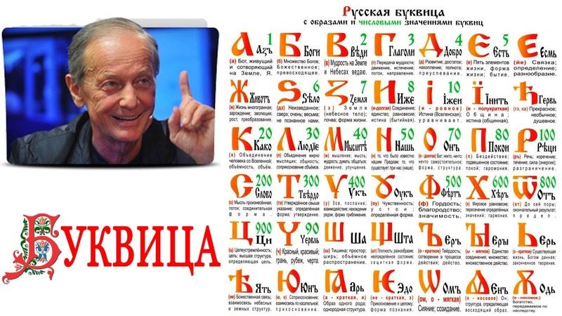 Михаил Задорнов Буквица Аз Бога Ведаю