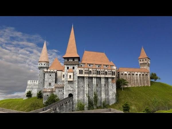 Speed Modeling Corvin Castle Hunedoara