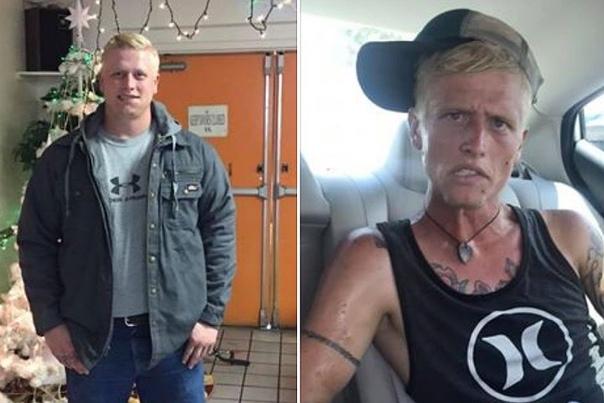 Американка показала, в кого наркотики превратили ее сына за полгода У 26-летнего Коди Бишопа есть любящая семья и дети, но он неделями не выходит на связь с ними из-за наркозависимостиПубликация