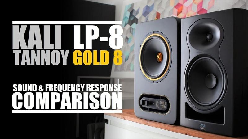 Tannoy Gold 8 vs Kali Audio LP 8 Sound Frequency Response Comparison