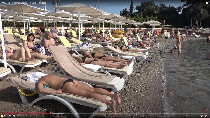 Antalya - Kemer Beach - 4K Ultra HD 2160p