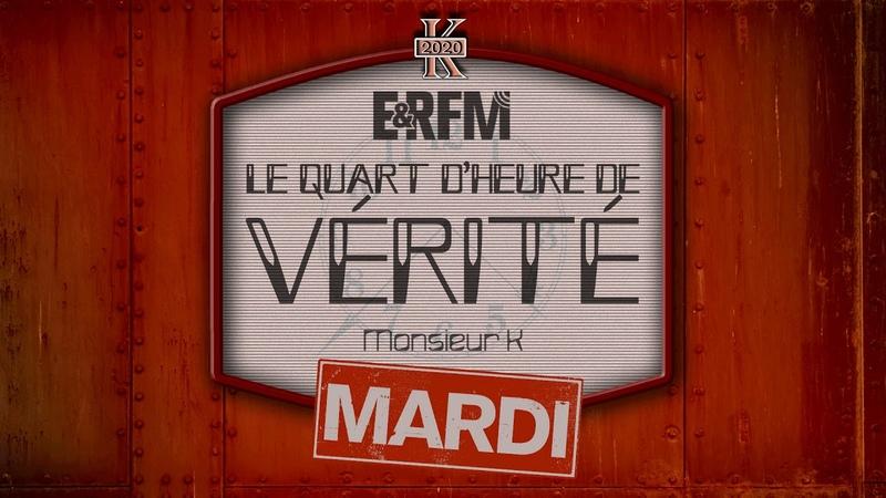 LE QUART D'HEURE DE VÉRITÉ N°41 ÉMISSION DU 31 MARS 2020