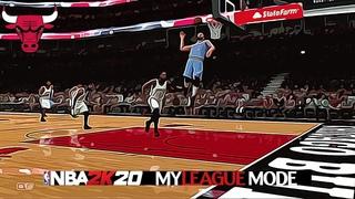NBA 2K20 | MyLeague Mode 2.0 | Chicago Bulls EP 13 | Brooklyn Nets VS Chicago Bulls (No Sound)