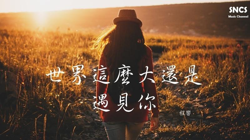 程響 世界這麼大還是遇見你 清新的小女孩 中文版 高音質動態歌詞