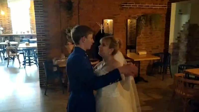 Виталий и Кристина Первый Свадебный танец Молодожёнов