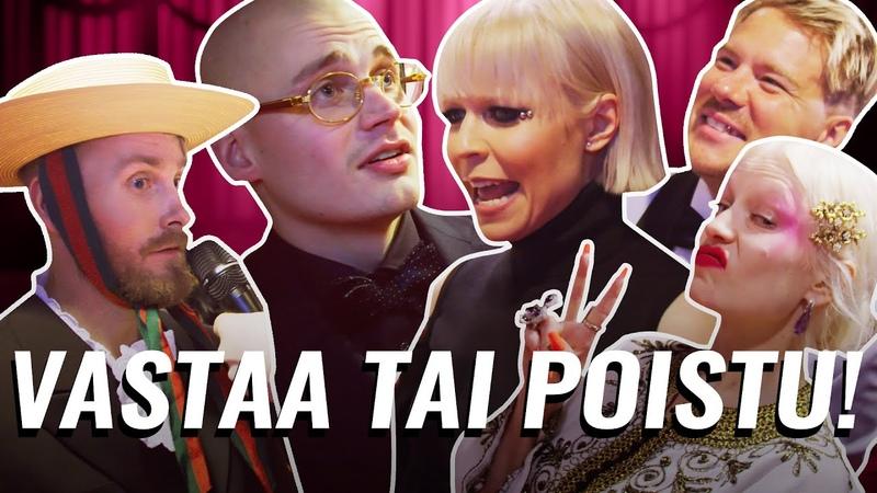 ARTISTIT JÄÄTY MEIDÄN KYSYMYKSILLE EMMA GAALA 2020 PUNAINEN MATTO
