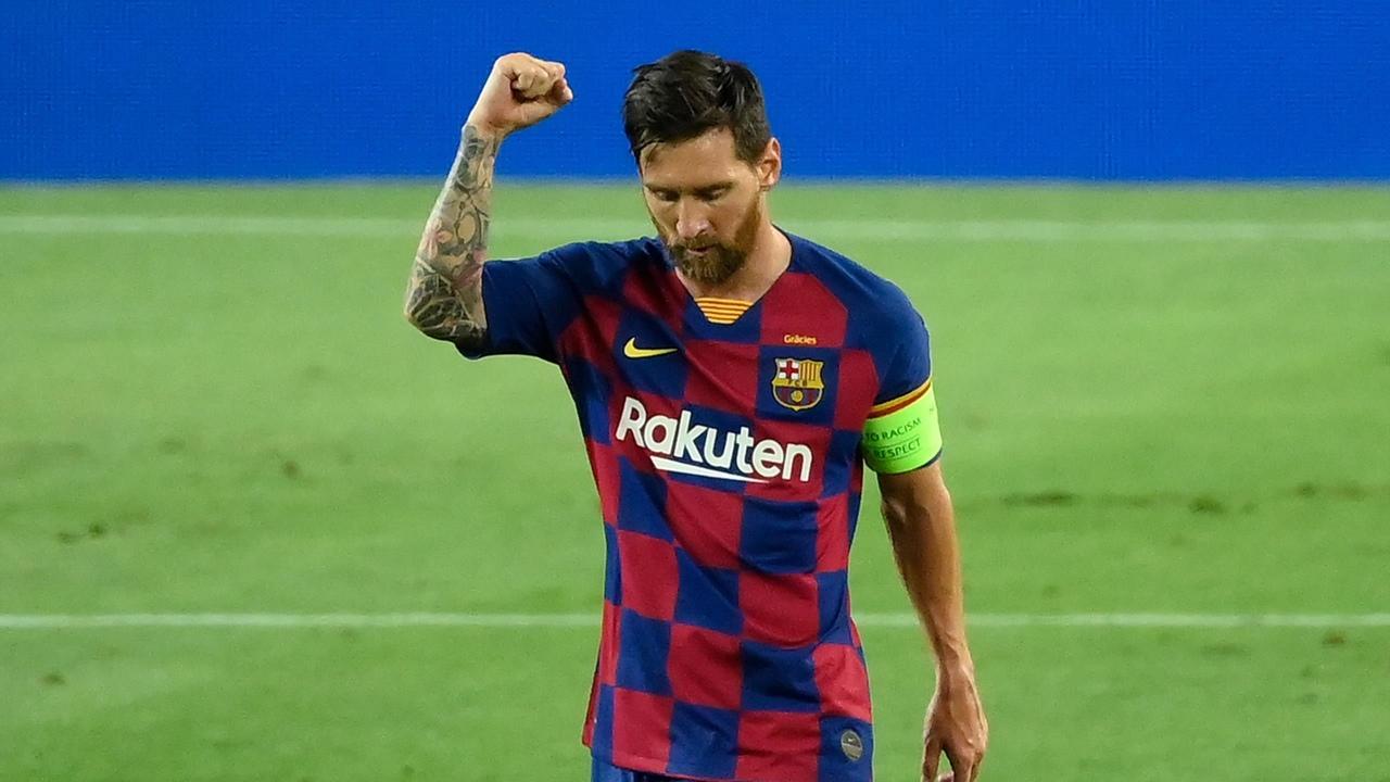Барселона - Наполи, 3:1. 1/8 финала Лиги чемпионов 2019/20. Лионель Месси