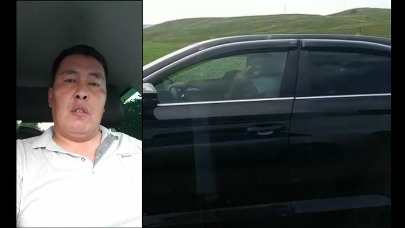 Водитель из акимата демонстрировал культуру поведения на дороге ДК АЛТАЙ ВКО
