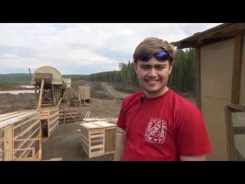 Артем Истомин гидромониторщик на золотом прииске Мамон артели Ангара Север на своей первой вахте