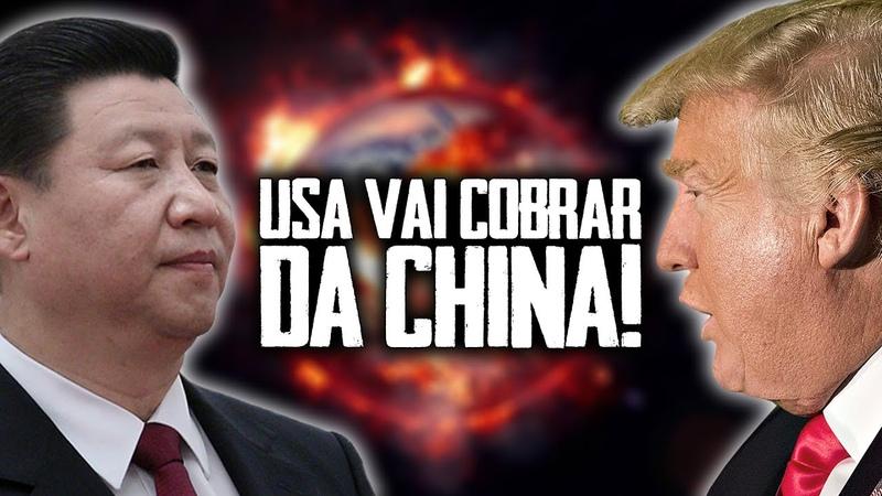 ESTADOS UNIDOS QUER COBRAR DA CHINA AS PERDAS PROVOCADAS PELO CORONAVÍRUS