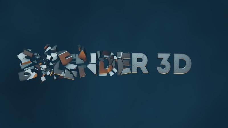 Анимация с помощью Cell Fracture в Blender