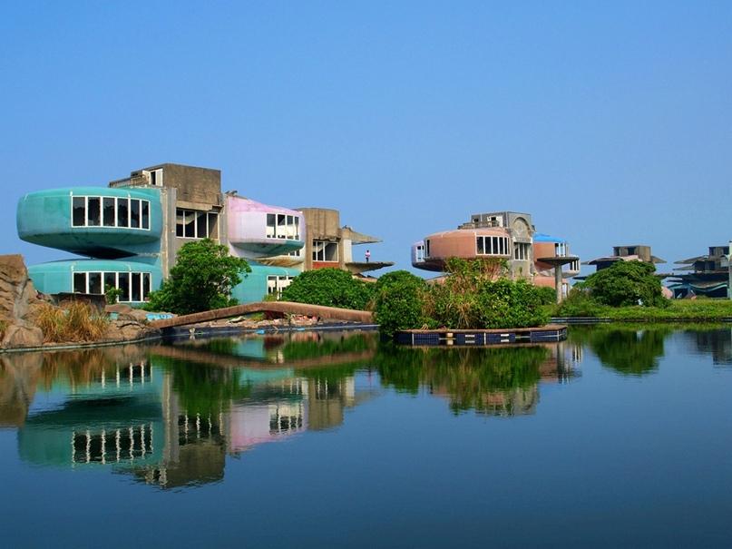 Город Саньчжи с домами-НЛО, Тайвань, изображение №5