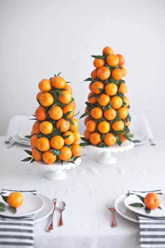 Как украсить Новогодний стол: 20 простых идей, изображение №12