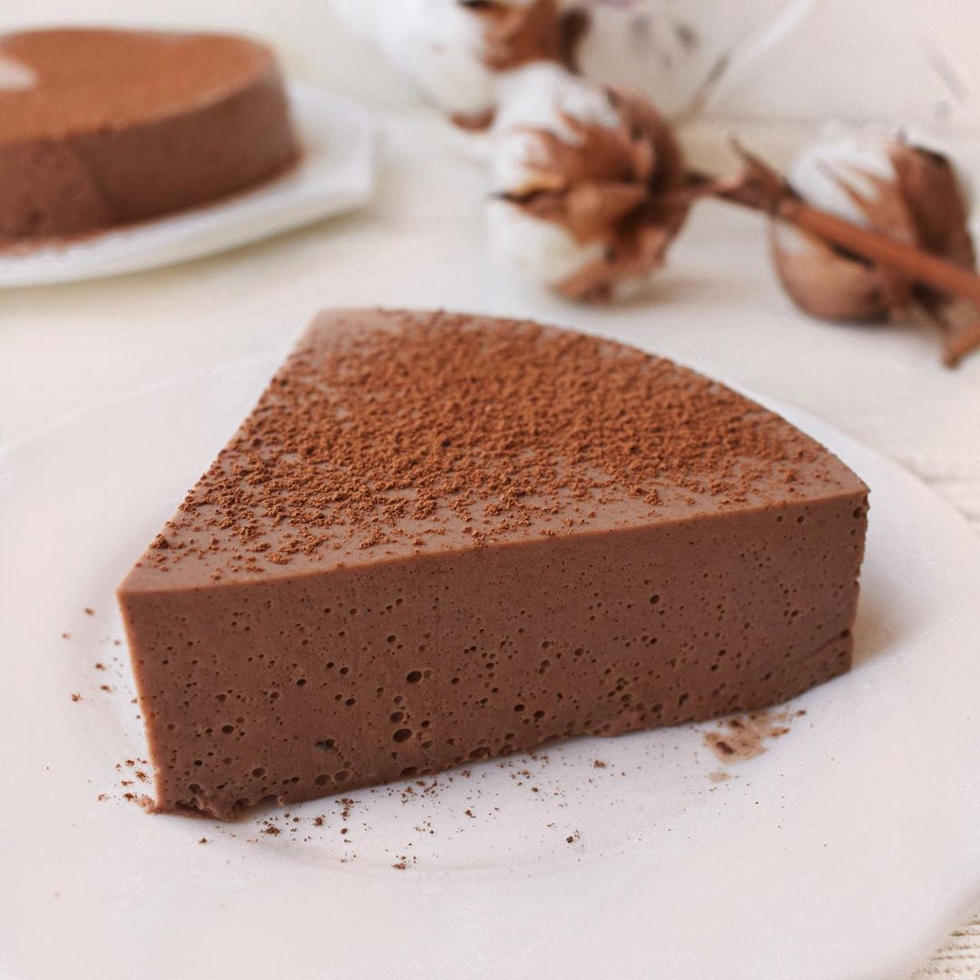 Шоколадно-творожное суфле