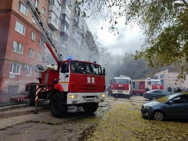 В Самаре, 20 октября 2021 года, на улице Ново-Садо...