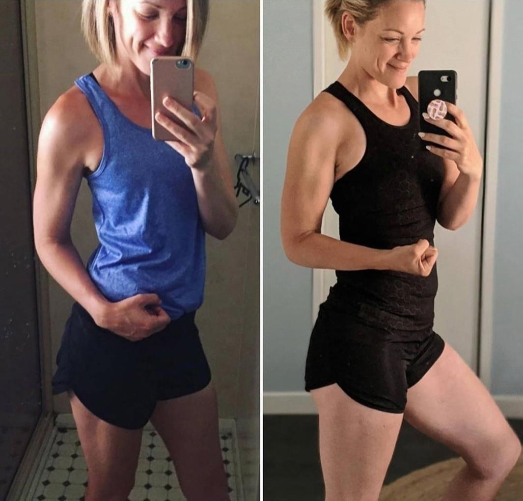 Девушка похудела на 30 кг, не отказываясь от мучного