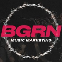 Логотип BGRN Booking x Music Marketing