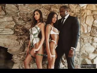 Scarlit Scandal, Gianna Dior - Muse Episode 2 - Threesome Teen Ebony Latina Big Black Cock Dick BBC Gonzo Hardcore Interracial