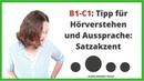 ᐅ Deutsch Hören B1-C1: Hörverstehen für eine Deutsch-Prüfung verbessern