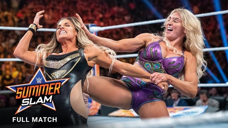 FULL MATCH - Charlotte Flair vs. Trish Stratus SummerSlam 2019