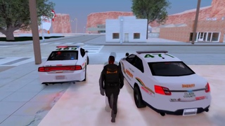 [SHW] Dodge Charger 2014 & Ford Taurus Clark 2016 County Sheriff [ LQ IVF ]