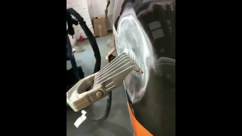 Гребенка для кузовных работ для восстановления кузова после аварии