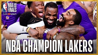 #NBAFinals Game 6 Highlights And Lakers Celebration 🏆