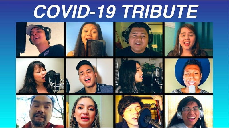 We Are the World COVID 19 Tribute Cover