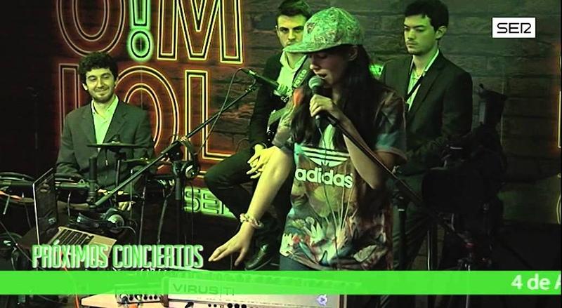 ACDEM3 La chilena Javiera Mena trae al programa el mejor electropop. Cadena SER