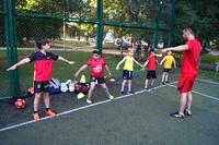 Фото с тренировки школьной группы в Парке Дружба.