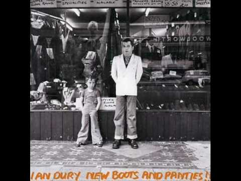Ian Dury Plaistow Patricia New boots and panties With Lyrics