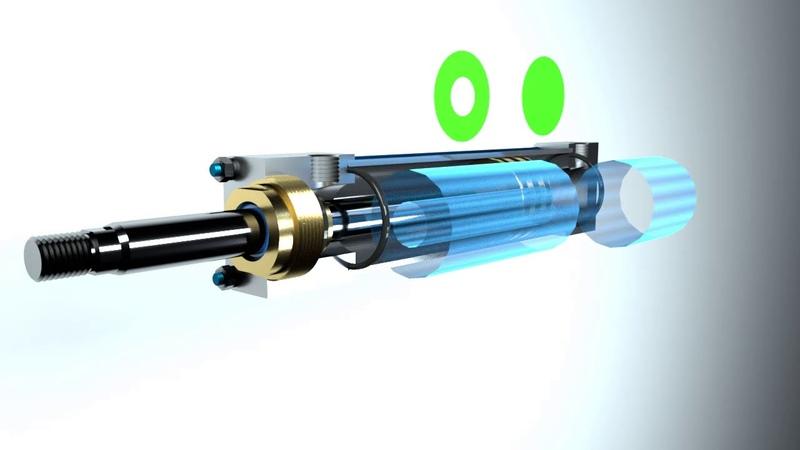 Гидроцилиндры Устройство и работа односторонних двухсторонних телескопических цилиндров