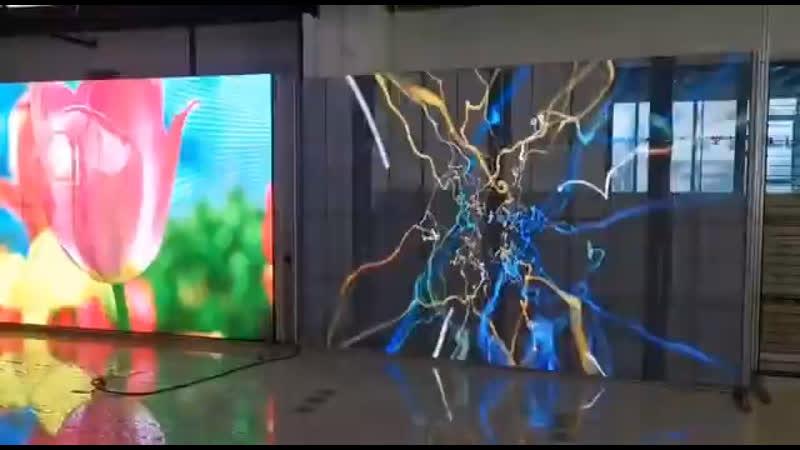 Прозрачный Светодиодный Экран на ваше Мероприятие Аренда Продажа Робот Мода transparent led robotmoda