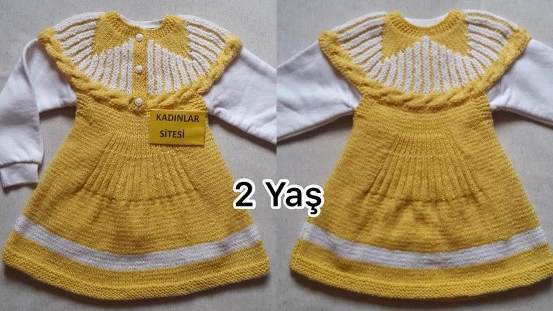 Farklı Ve Güzel Çocuk Elbise Modeli Arayanlar İçin 2 Yaş Güneş Jile Tarifi